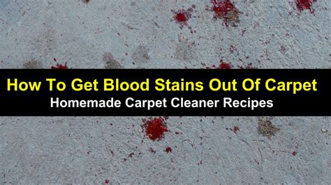 Getting Stains Out Of Upholstery How To Get Blood Stains Out Of Carpet Homemade Carpet