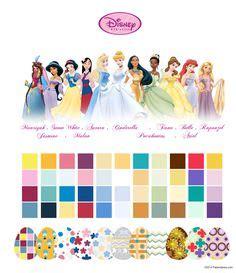 Bow Liciousness On Pinterest Hair Bows Dog Bows And Disney Princess Color Scheme
