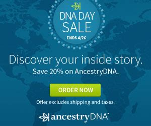 Dna Sles Are In by National Dna Day 2017 Sales Sneak Peek