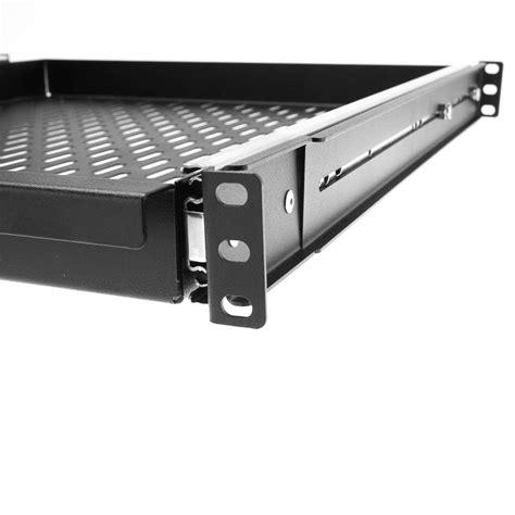 Sliding Shelf Rack by 20 Inch Rackmount Vented Sliding Shelf