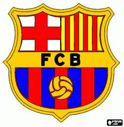 fc barcelona colors free coloring pages of barcelona logo