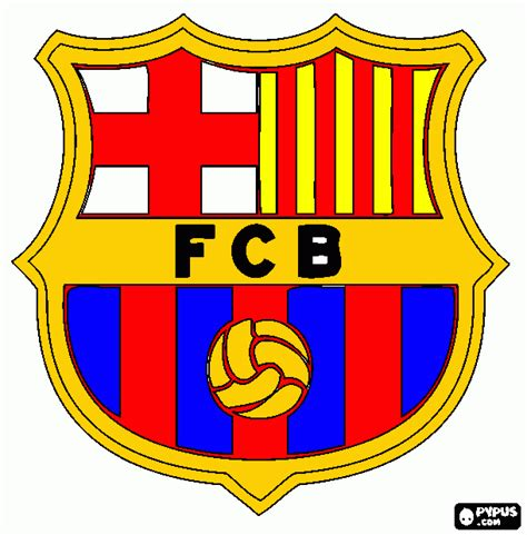 fc barcelona colors fc barcelona logo black and white sketch coloring page