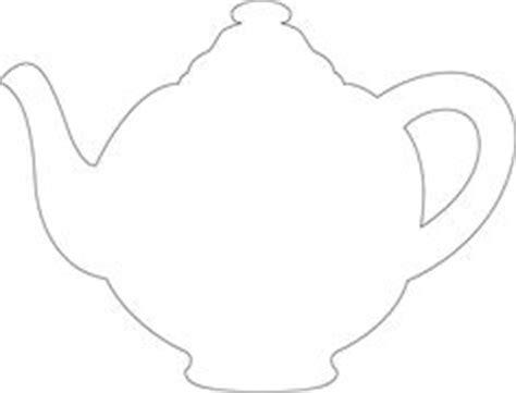 Teapot Templates Free Printable Cut The Teapot Handle Teapot Invitation Template Printable