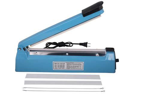 Impulse Sealer 30cm 12 quot impulse heat poly sealer 30cm wrap plastic bag closer machine teflon sealing ebay