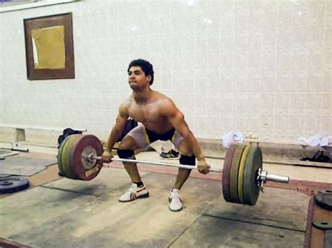 mohamed ehab snatch grip deadlift complex   gym