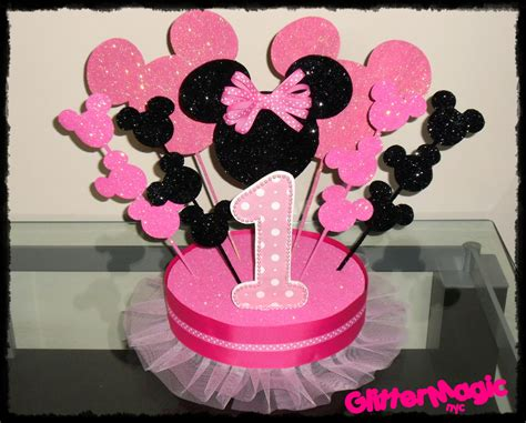 minnie mouse centerpieces centerpiece entertaining minnie mouse