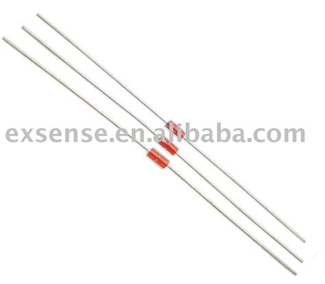 types of glass diodes ntc diode thermistor of glass sealed type buy axial thermistor resistor do 35 diode type glass