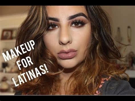 whats a great hair color for hispanic women makeup tips for latinas olive skin women youtube