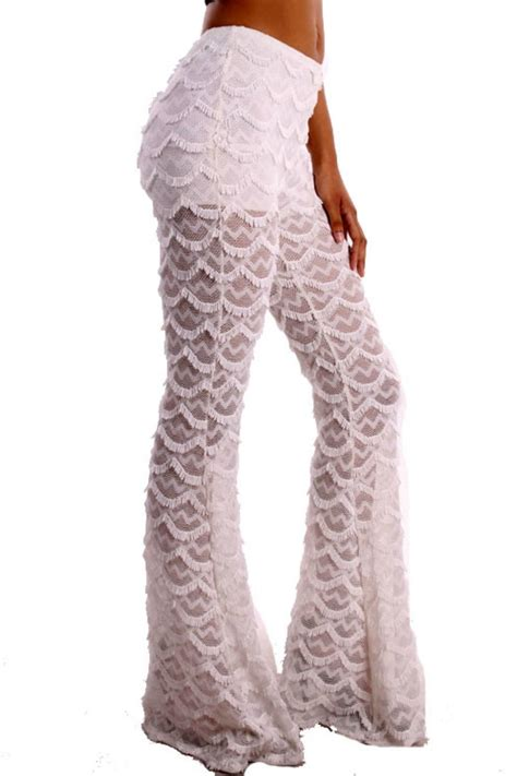 Florida Home Decor by Pink Tree Lace Palazzo Pants From Florida By Pink Tree