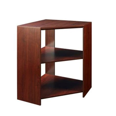 Closetmaid Corner Cabinet Closetmaid Impressions 41 1 In Cherry Corner Unit