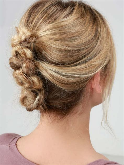 easy hairstyles you can do in 5 minutes sweetheart twisted updo easy hairstyles you can do in 5