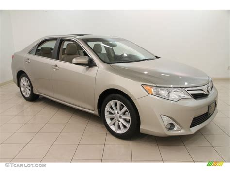 2013 toyota camry xle v6 2013 chagne mica toyota camry xle v6 110057233