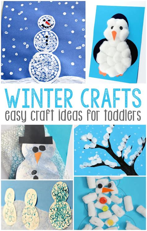 and crafts for toddlers simple winter crafts for toddlers easy peasy and