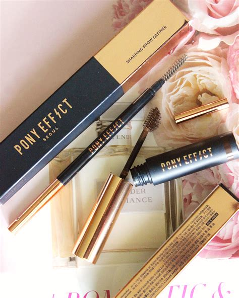 Pony Effect Contoured Brow Color yummmiiee memebox pony effect sharping brow definer contoured brow color in brown