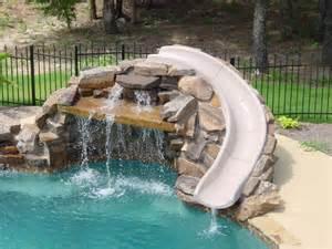 Backyard Pool Water Slides Pool Slides