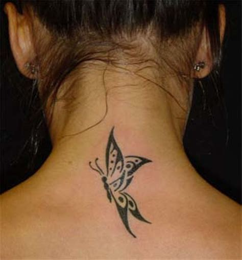 butterfly neck tattoo 63 beautiful neck butterfly tattoos