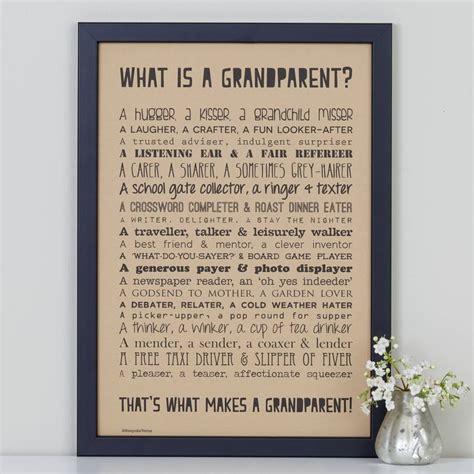poem for grandparents personalised grandparent print with grandparent poem by