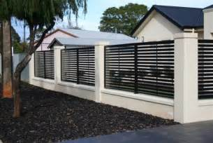 modern fencing modern home fencing and gates adelaide by hindmarsh fencing wrought