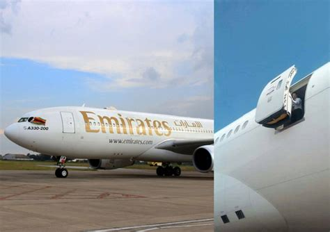 emirates uganda flight attendant who fell off emirates plane in uganda has