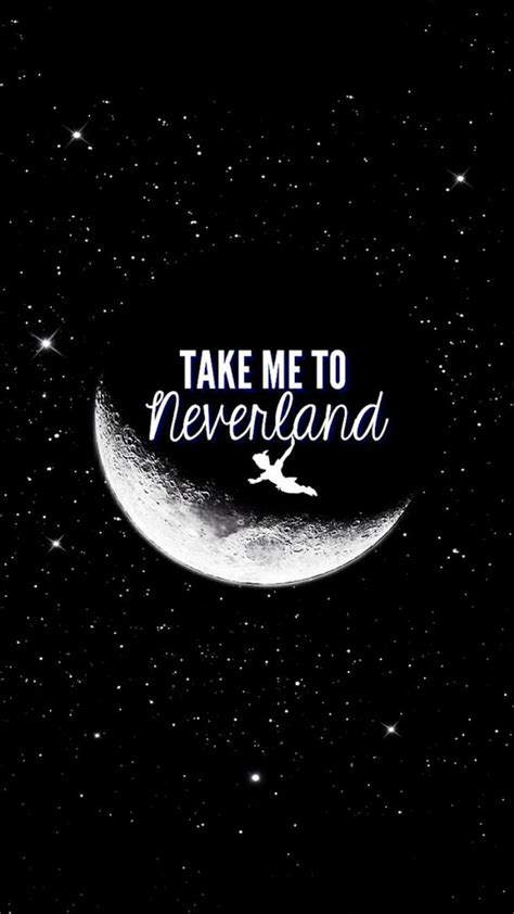 disney wallpaper black and white neverland image 2213297 by lady d on favim com