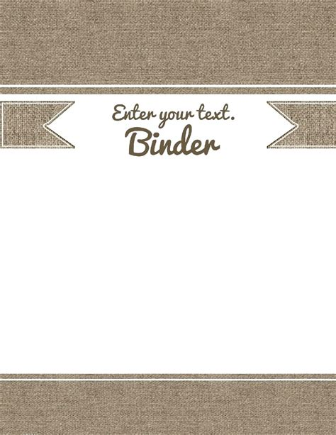 template binder spine template file side label labels organization