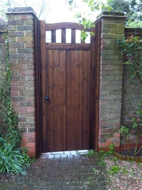 wooden side gates for houses colne valley gate bow top slatted wooden side gates 45mm or 70mm