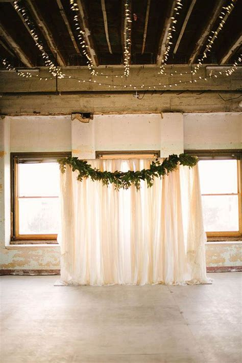 Piping And Draping For Weddings Best 25 Diy Wedding Backdrop Ideas On Pinterest Vintage