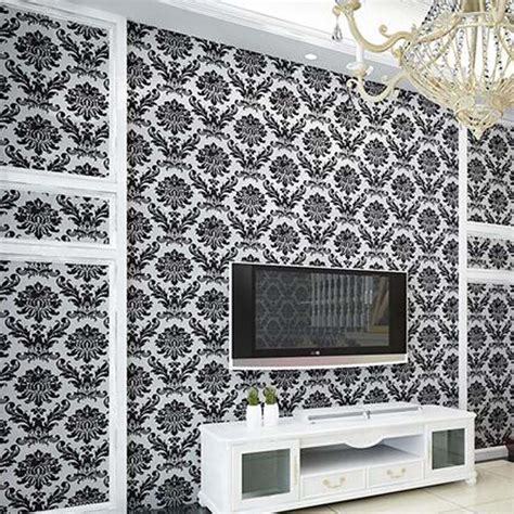 Wallpaper New York Ns3130 Wallpaper Dinding Motif papier peint noir et blanc chambre
