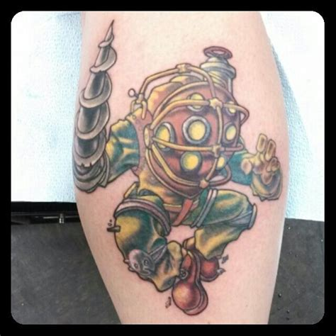 big daddy tattoo 10 best images about tattoos on bioshock best