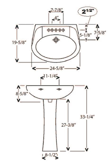 Standard Kitchen Base Cabinet Sizes pretentious inspiration standard bathroom sink size 5