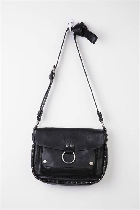Kate Moss Studded Pouch Bag by Kate Moss And Beau Nikolai Bismarck Enjoy