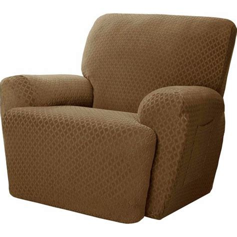walmart recliner slipcovers maytex mitchell polyester spandex recliner slipcover