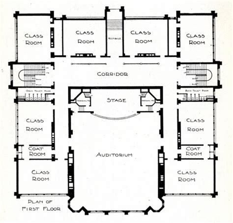 floor plans for school buildings building plan for the school house plan ideas house