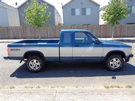 how make cars 1992 chevrolet s10 parental controls 1992 chevrolet s10 pick up truck 4wd low miles 1993 1991 1990 1994 1995 gmc