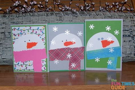 snowman cards to make easy snowman card tutorial how to make snowman