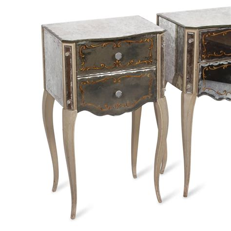 Glass Nightstand Mirrored Glass Nightstand Sale Mirrored Glass Nightstand