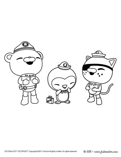 octonauts coloring sheets for bsc pinterest coloring