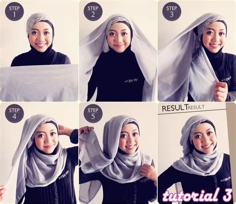 download video hijab tutorial wisuda full step 2015 cara memakai jilbab segi empat motif modis rachael edwards