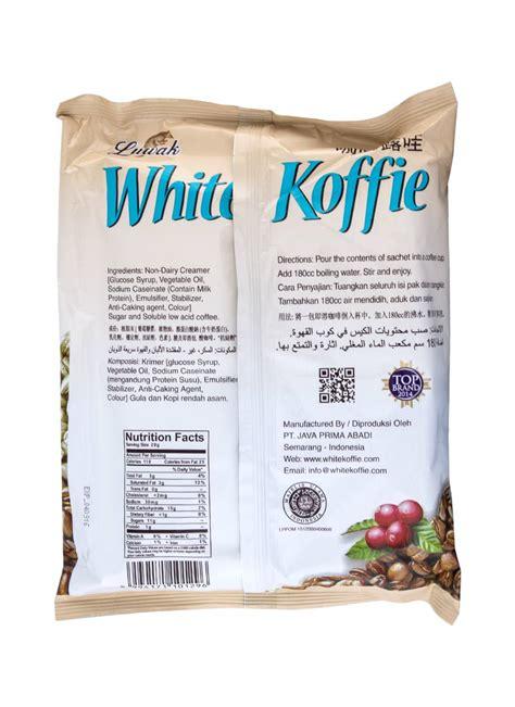 Kopi Luwak Premium Coffee Powder 165gr Tanpa Gula Kopi Murni Hitam Ori luwak white koffie original pck 10x20g klikindomaret
