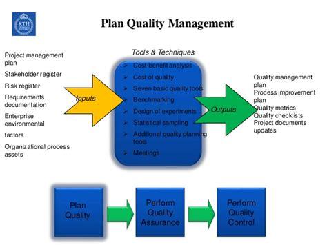 design quality management project quality management