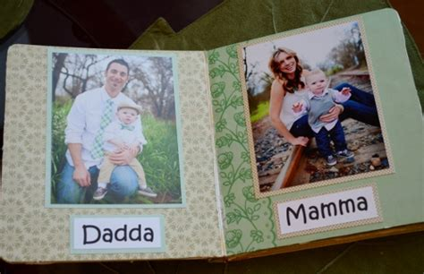 family picture books diy family board book for babies