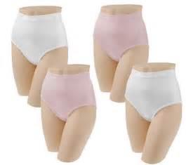 Breezies set of 4 nylon lycra brief panties with ultimair qvc com