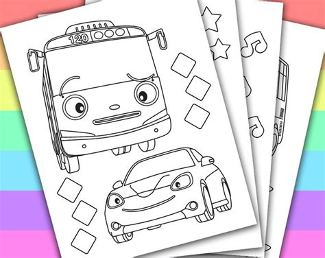 coloring page tayo tayo the little bus videos 797 00 kb latest version for