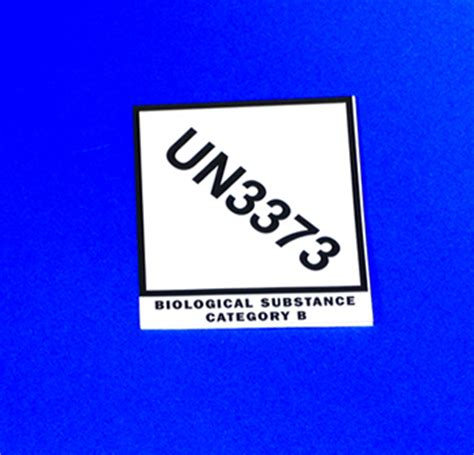 printable un3373 label un 3373 biological substance category b labels infekta