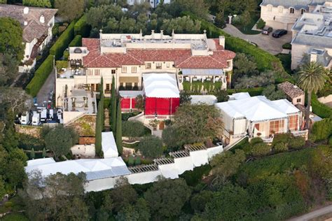 lionel richie s house in beverly hills ca virtual site of nicole richie and joel madden s wedding zimbio