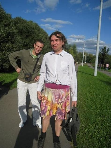 in kineshma russia 44 year old vladimir fomin become somewhat famous ticker meet the man who says no to trousers only