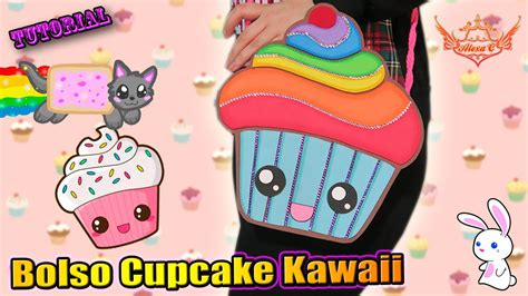 imagenes de gomas kawaii tutorial bolsito de cupcake kawaii de goma eva foamy