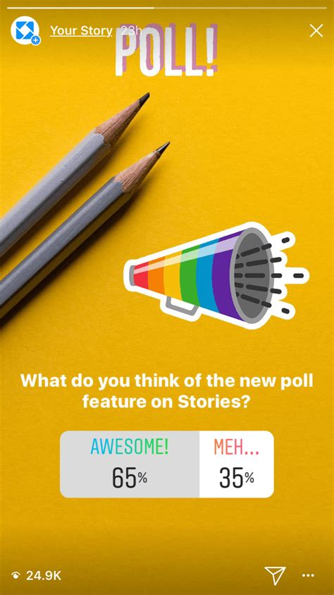 I Don T The Poll Sticker On Instagram