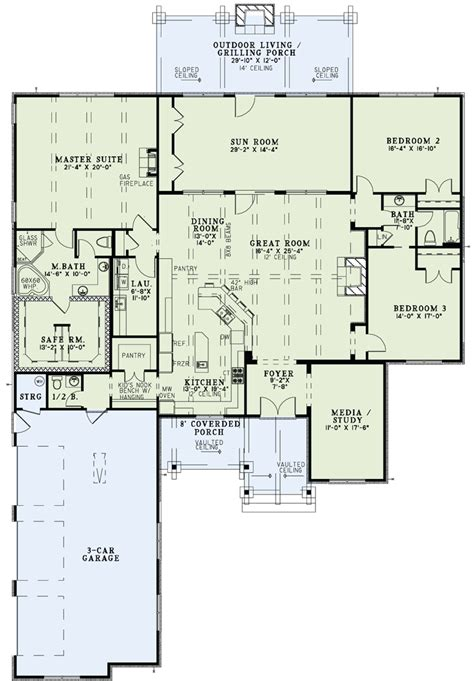 perfect home plans damn near perfect open kitchen to lg dining and family