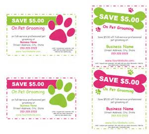 editable amp printable pet grooming templates